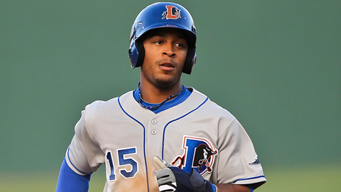 Desmond Jennings had 12 homers and 17 steals in 89 games at Triple-A.