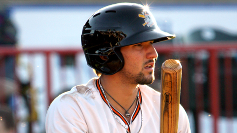 Nick Castellanos led the Minors with a .405 average before his promotion.